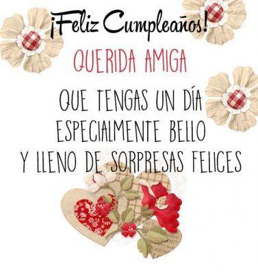 Felicitaciones De Cumpleaños Para Una Amiga Especial Flores