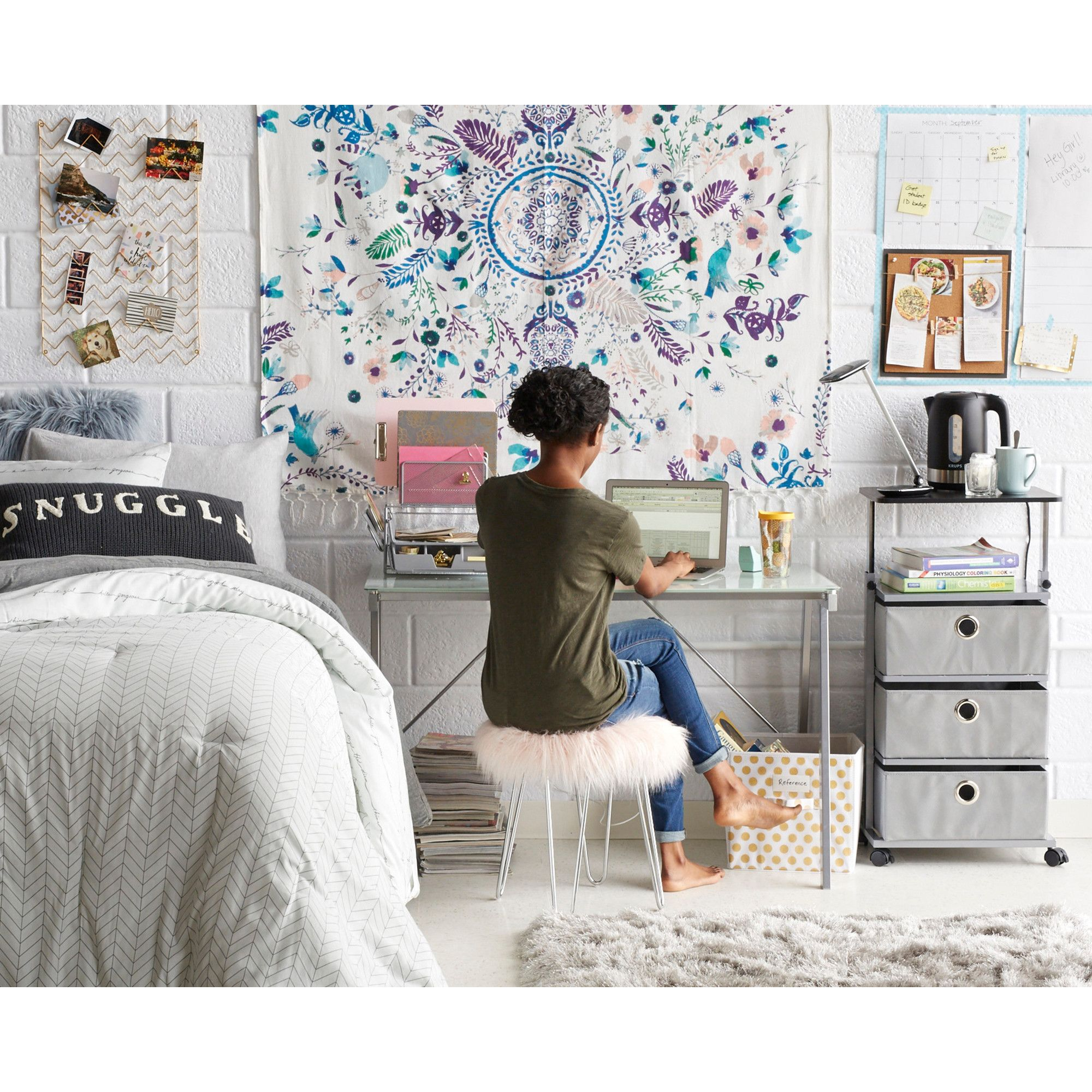 Shop This Boho Glam Dorm Look From Bed Bath And Beyond