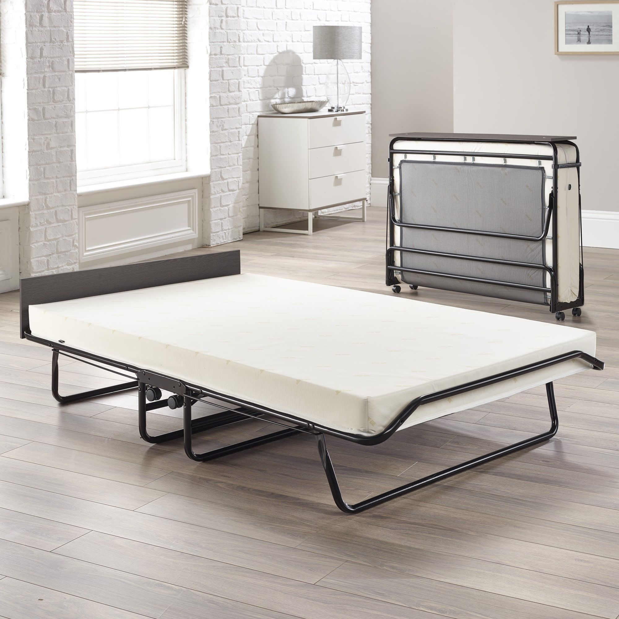 Jay Be Visitor Oversize Folding Bed With Memory Foam Mattress (107204),
