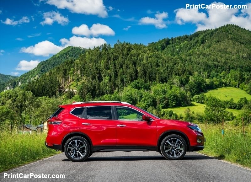 Nissan XTrail 2018 poster Nissan, Suv cars, Nissan rogue