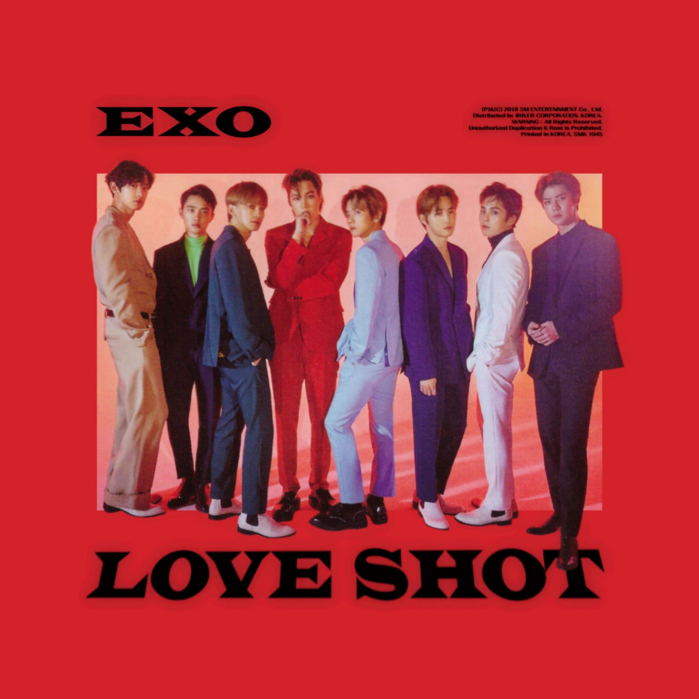 Exo Christmas Album Cover.Exo Love Shot Repackage Vol 5 Album Cover By Lealbum Exo