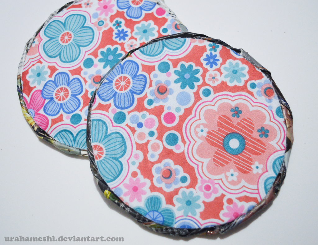 Cute Coasters by UraHameshi.deviantart.com on @DeviantArt