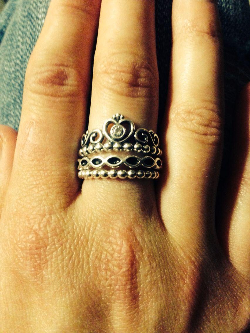 Pandora princess ring. Boys take note | Pandora | Pinterest | Ring ...