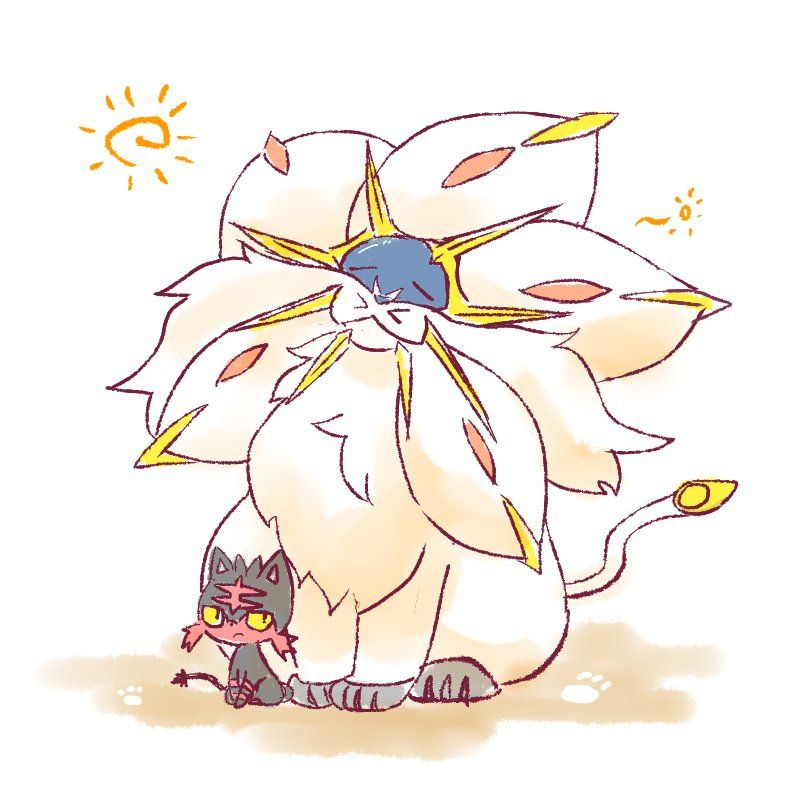 Pokemon Sun And Moons New Starters Already Have So Much