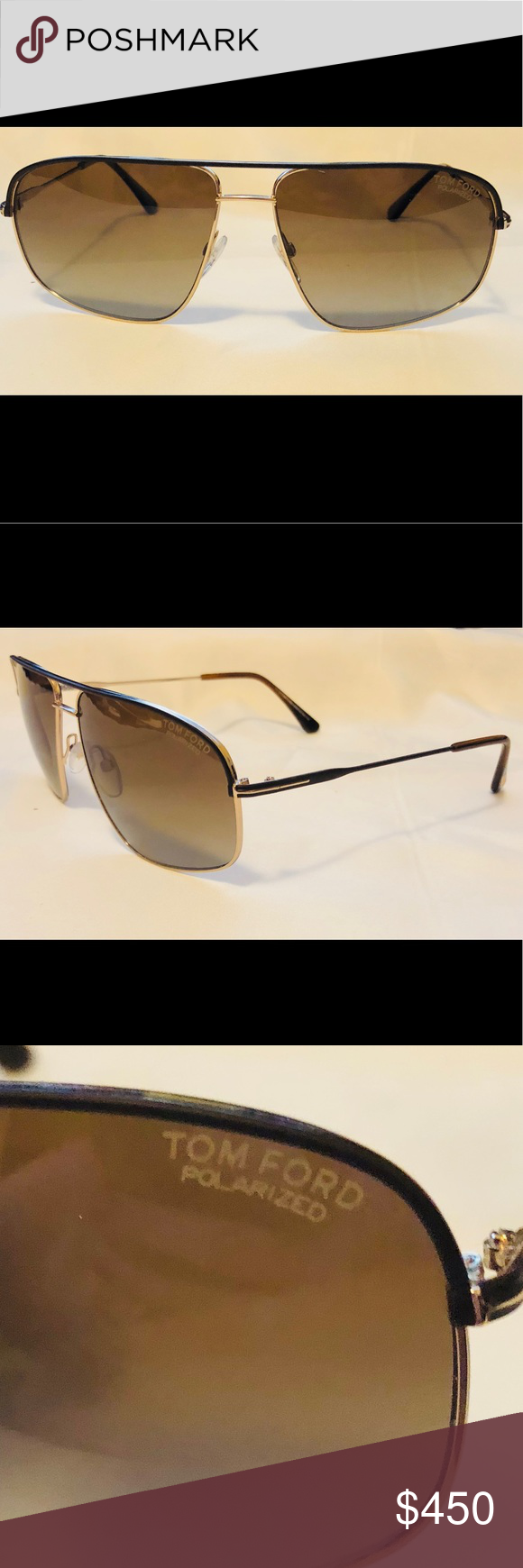 53b358d14c New Polarized Tom Ford FT467 Justin Sunglasses Condition  New Brand  Tom  Ford Gender  Unisex Series Number – FT467 Justin Color Code – 50H Frame  Color  Dark ...