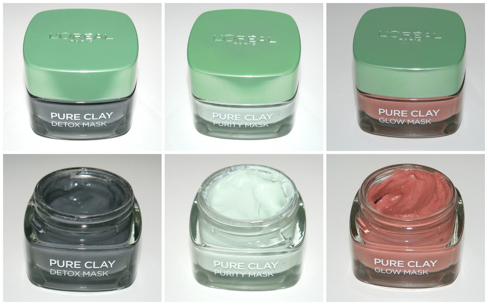 L'Oreal Pure Clay Masks // The August Review Consejos