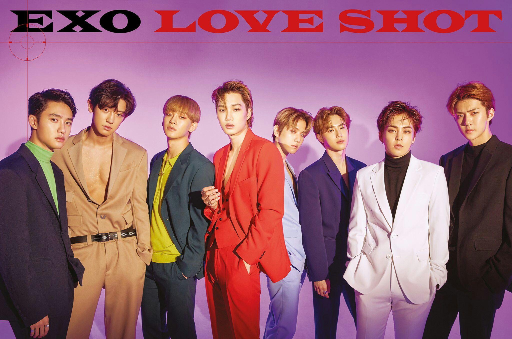 Love Shot 13 12 18 Exo Loveshot Weareone Suho Sehun Chen Do Xuimin Kai Chanyeol Baekhyun Exo Teaser Exo Album Exo Members