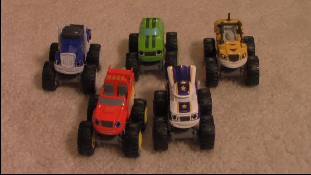 Blaze And The Monster Machines Toys Blaze Crusher Pickles