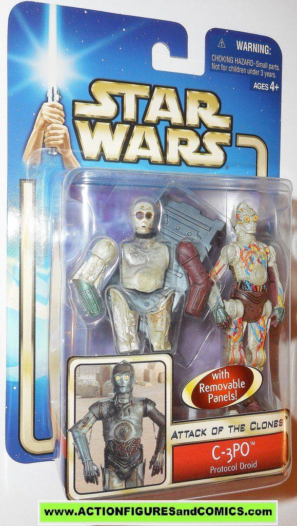 Hasbro Star Wars Aotc C 3PO Moc Action Figure