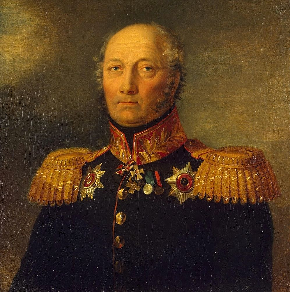 Andrey S. Umanets. By George Dawe, before 1827, The State Hermitage Museum
