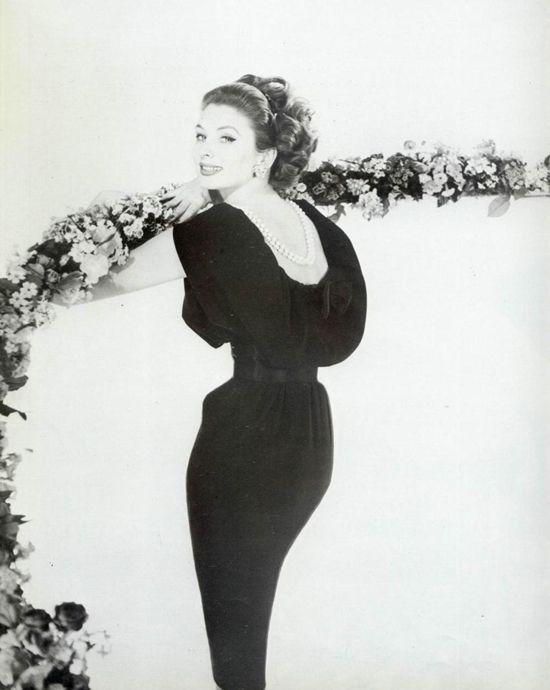 Suzy Parker pour Lanvin, 1959