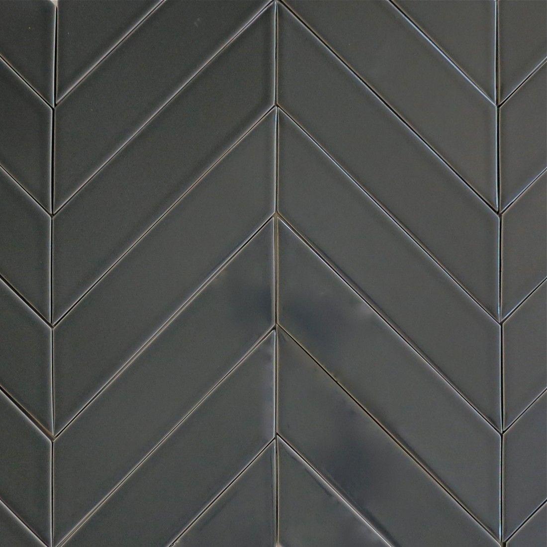 Kiln Ceramic Chevron Tile 103 Colors In 2019 Chevron