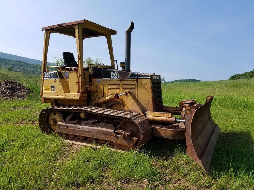 1994 Caterpillar D3C XL Series 3 Bull Dozer Crawler Tractor