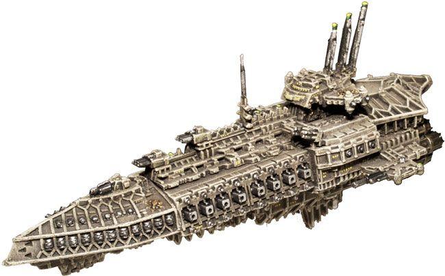 Choas Repulsive Class Gc Battlefleet Gothic Warhammer Fantasy