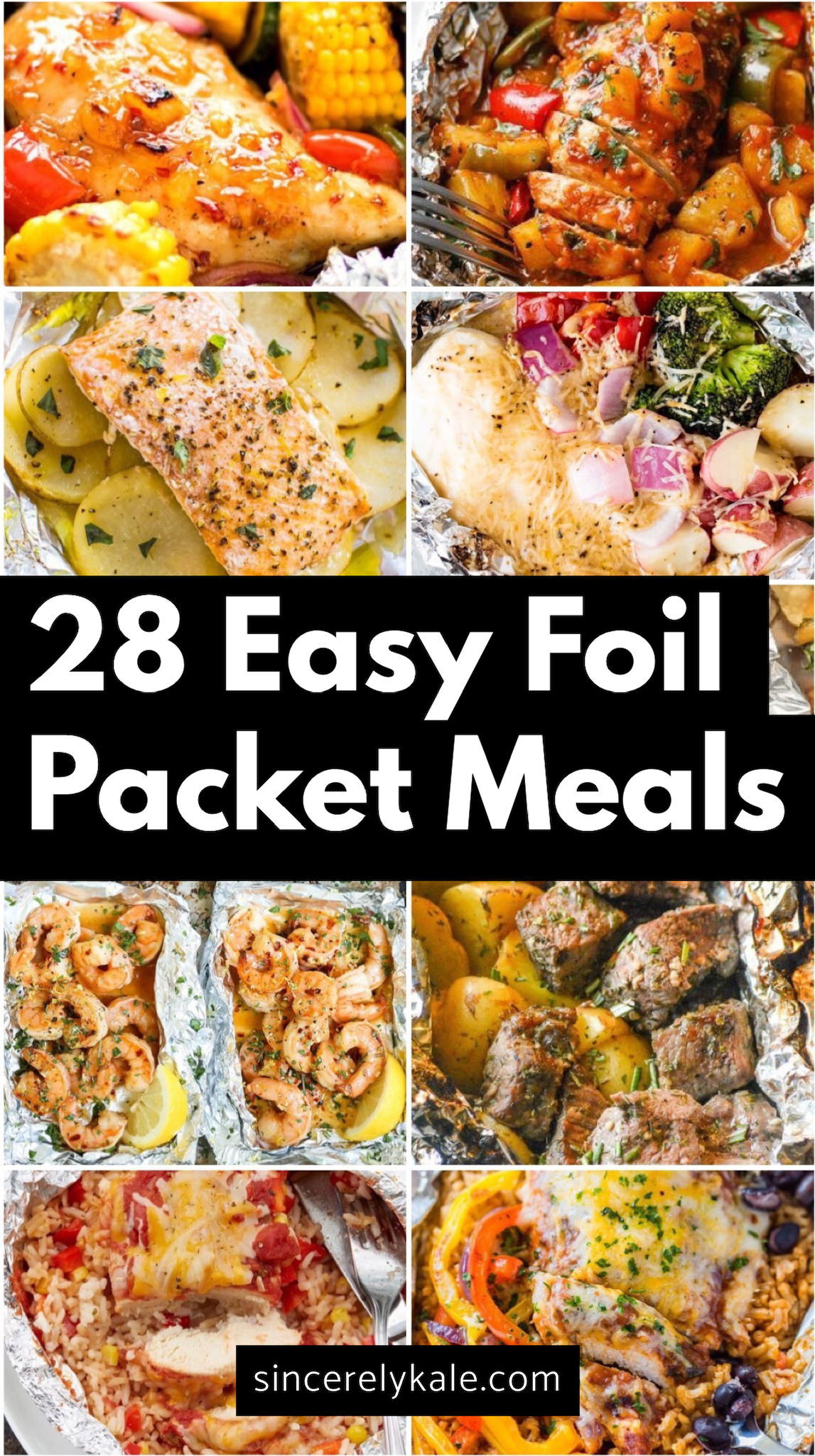 28 Hobo Foil Packet Dinner Recipes Perfect for Home or Camping images