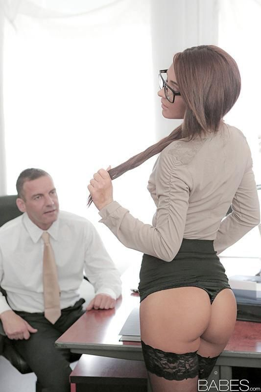 Sexy hoe office