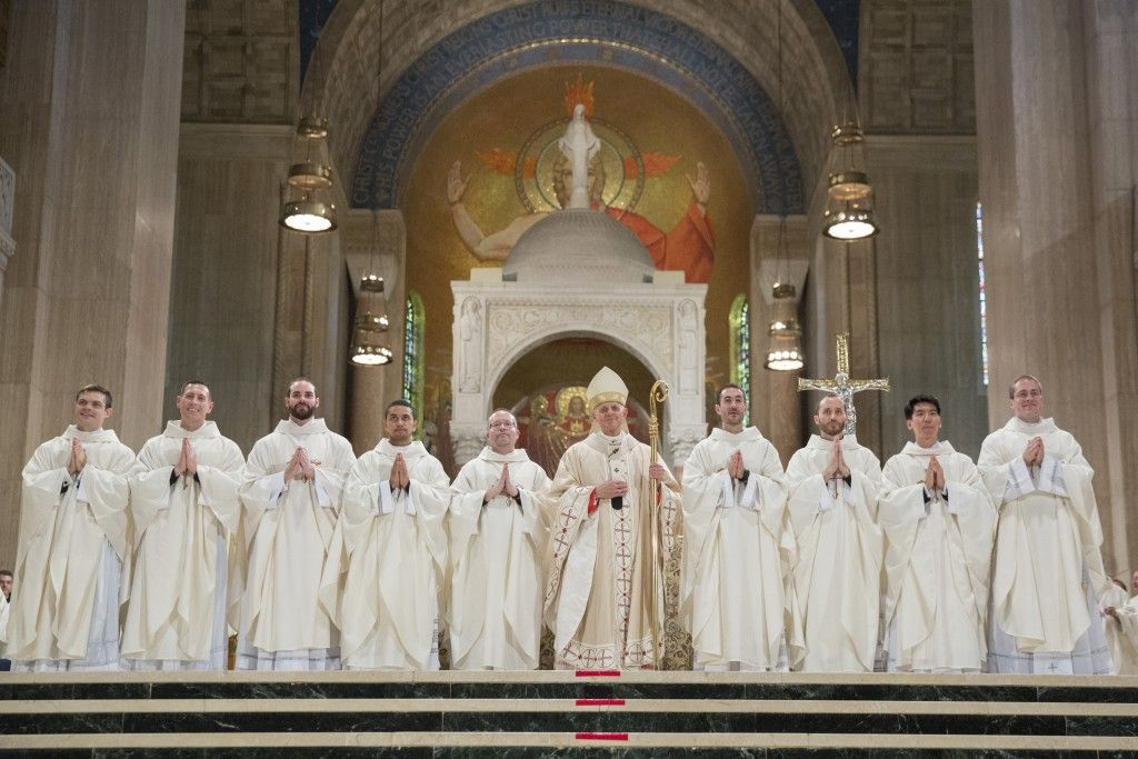 The Outpouring of the Spirit Upon Our Newly Ordained