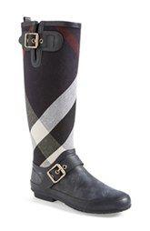 Burberry 'Birkback' Rain Boot (Women)