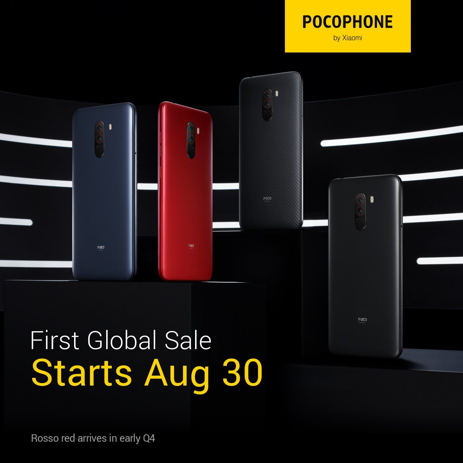 Xiaomi Poco F1s First Global Sale Kicks Off Today Android Google