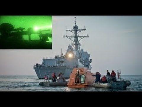 Captain Phillips rescue - US Navy SEAL TEAM 6 Sniper vs Somali Pirates - One Shot