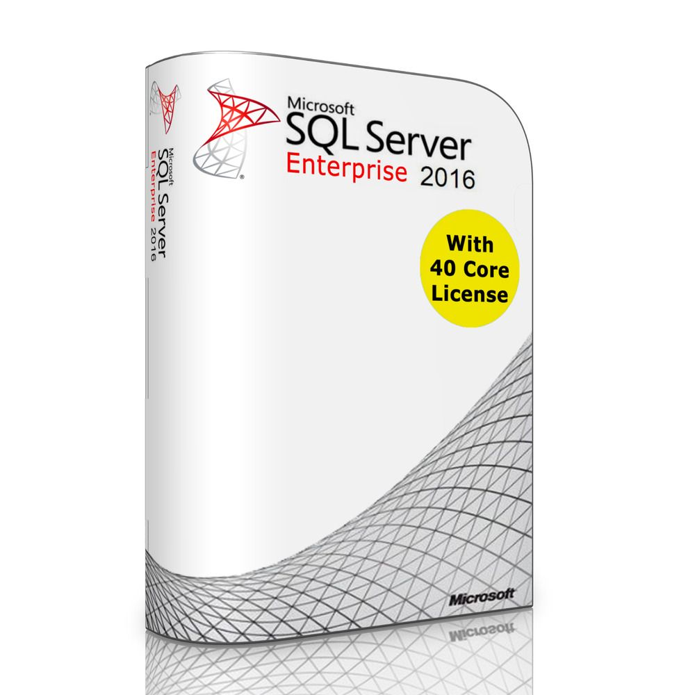 eBay #Sponsored Microsoft SQL Server 2016 Enterprise with 40