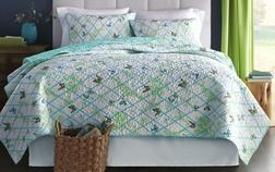 Mary Jane's Home® Trellis Flutter Quilt Set from Sears Catalogue  $99.99