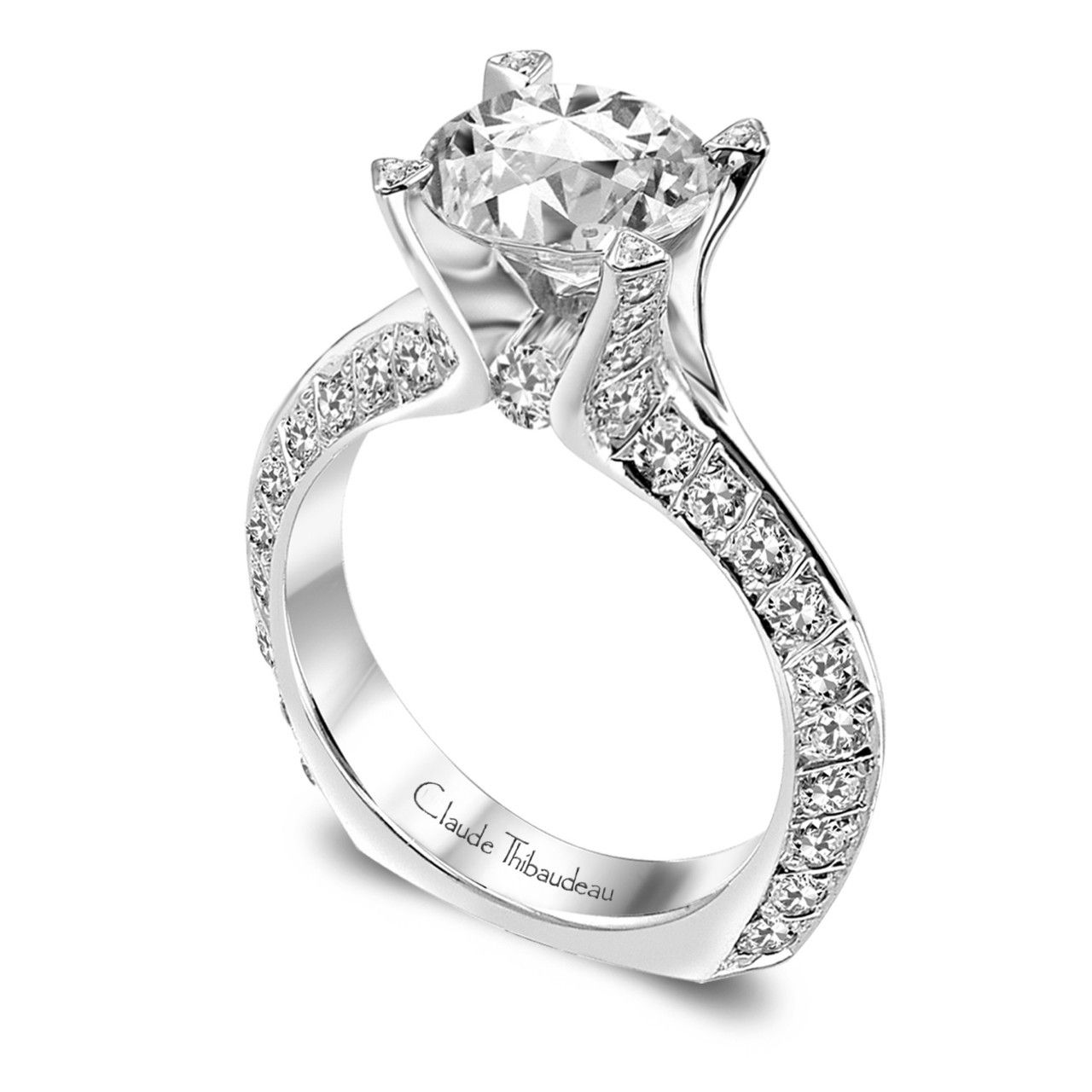 diamonds mod top ring engagement avis products rings european class cluster