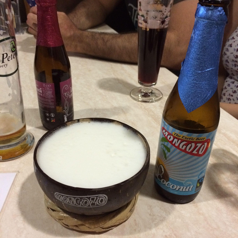 Cerveza Mongozo de coco