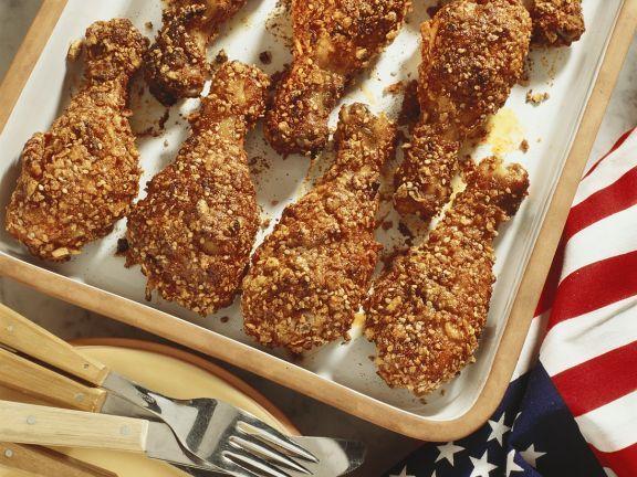 Hähnchenschenkel im Knuspermantel ist ein Rezept mit frischen Zutaten aus der Kategorie Hähnchen. Probieren Sie dieses und weitere Rezepte von EAT SMARTER!
