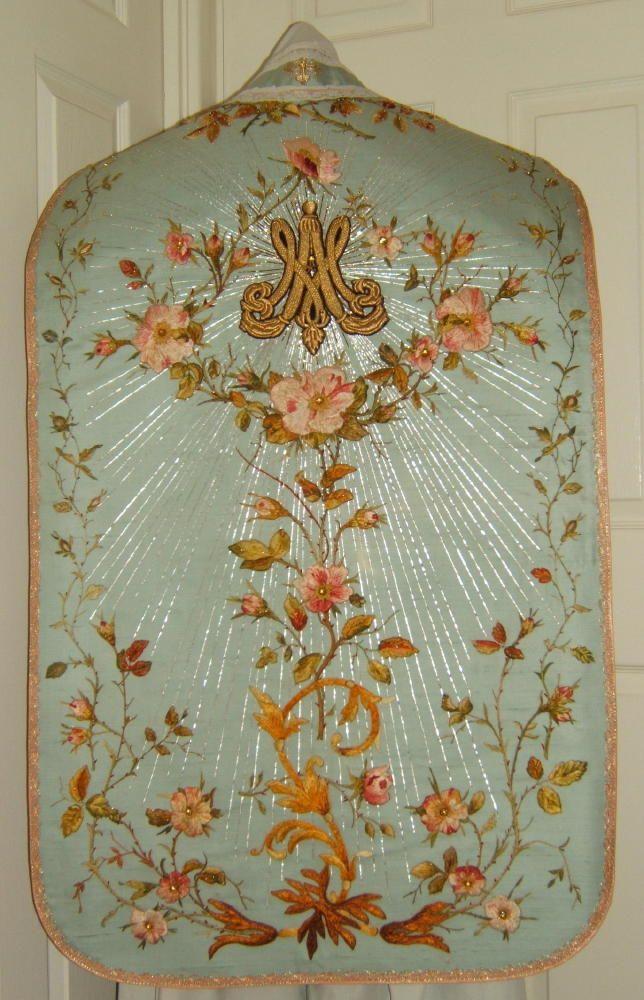 Pianeta mariana da Luzar Vestments