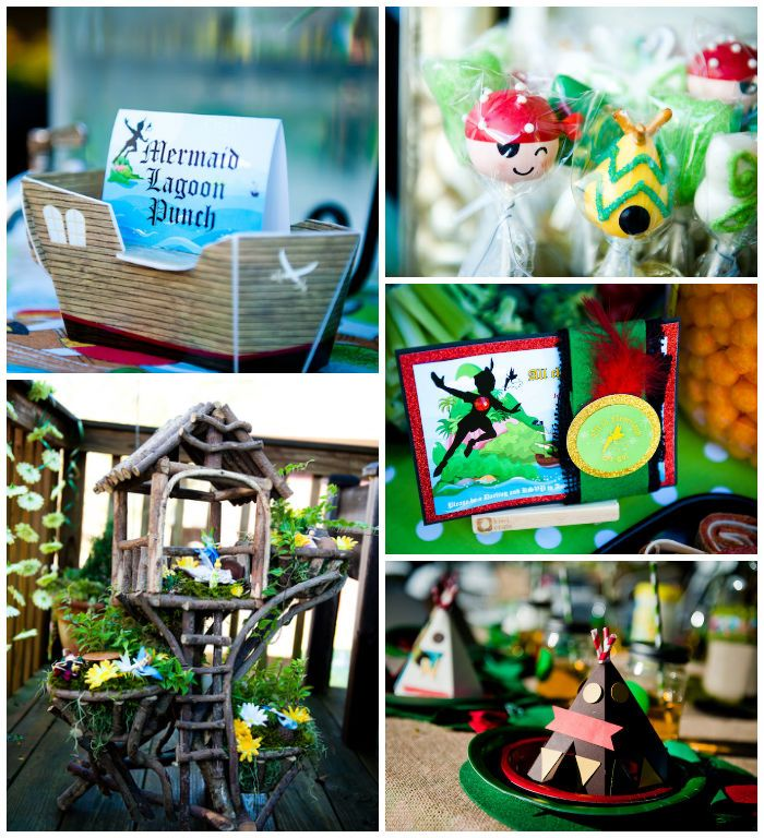 Neverland Tinkerbell Themed Birthday Party with SO MANY Cute Ideas