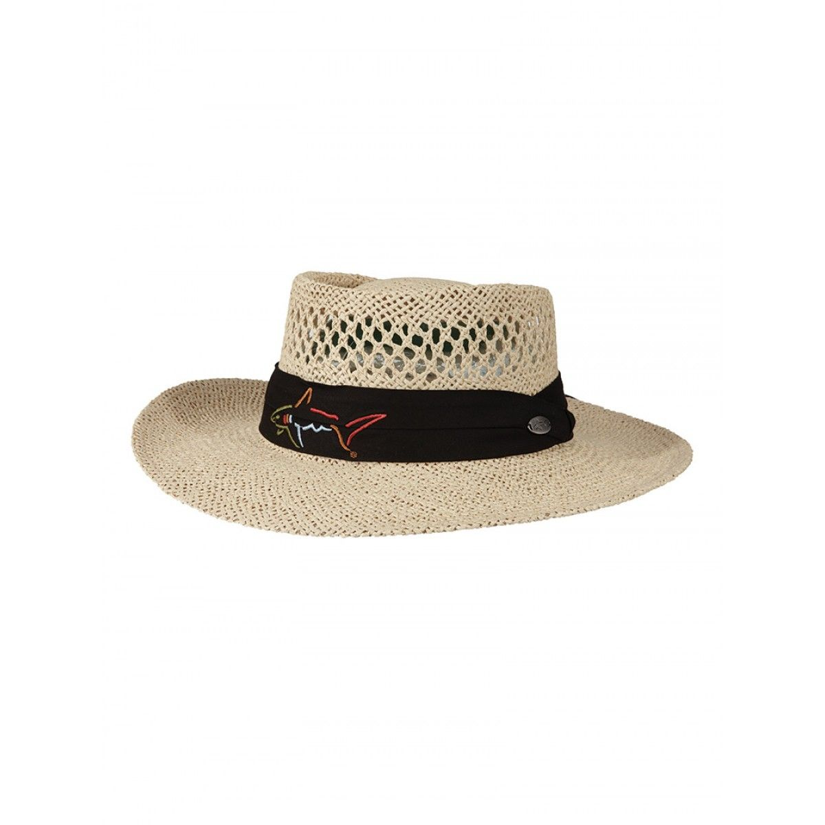 Greg Norman Signature Straw Hat Golf Ski Warehouse Mens Golf Outfit Hats Straw Hat