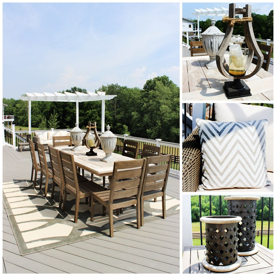 Patio Furniture Ashburn Va: #Homedecor #inspiration Featuring The #luxurious WHITMAN
