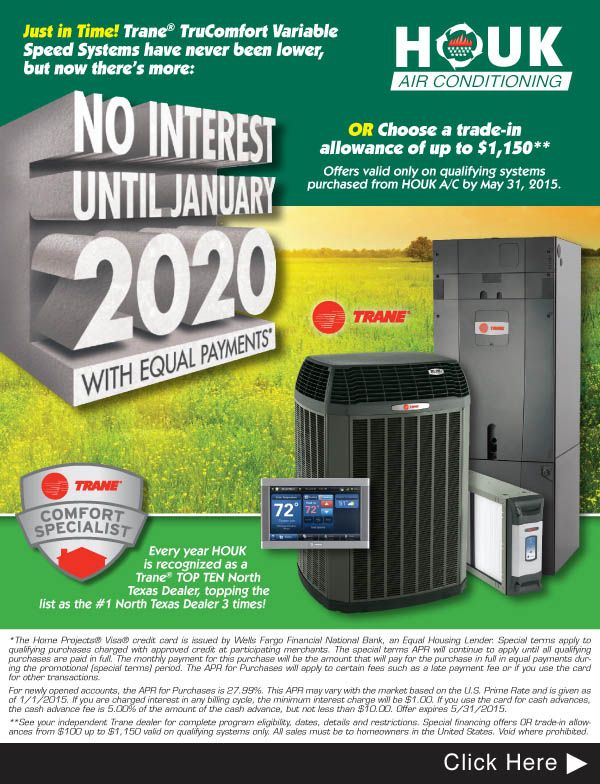 For over 50 years HOUK Air Conditioning, Inc. has offered