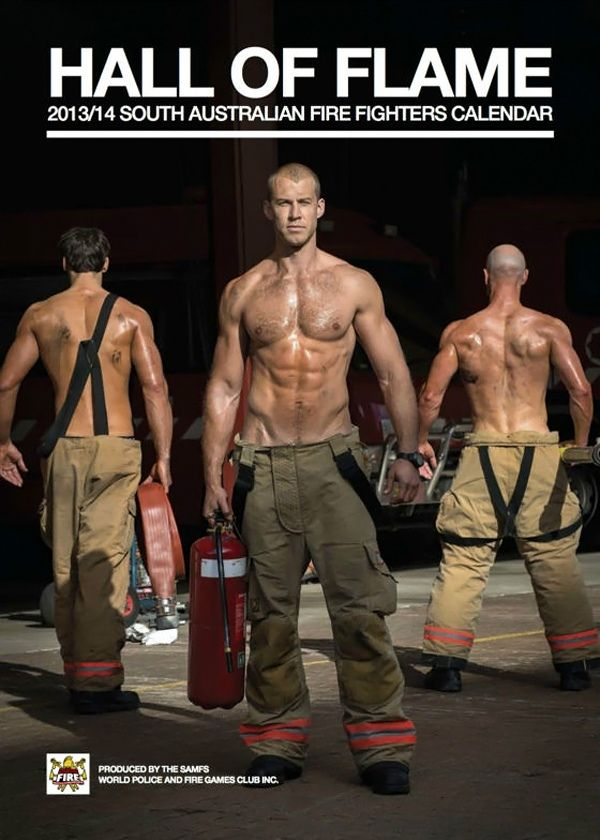 South Australian Firefighters Calendar 2013 14 These Men Are