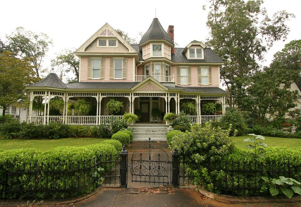 ColemanVickersNewton House in Bainbridge, GA Victorian
