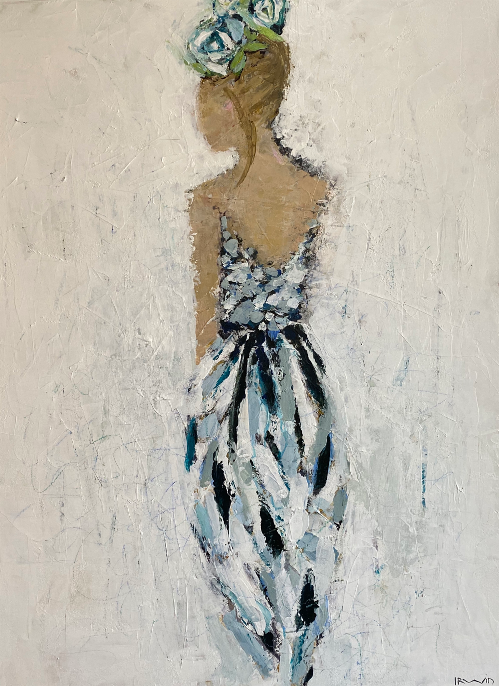 Holly Irwin Dk Gallery Blue Camellias 48x36 Mixed Media On Canvas Www Dkgallery Us M In 2020 Visual Arts Center Art Institute Of Pittsburgh Fine Art Painting