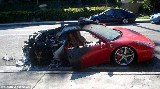 Ferrari Recalls Cursed Supercar After Five 458 Italias Burst