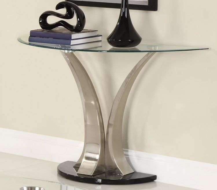 20 Beautiful Glass Entry Table Ideas Modern Sofa Table Glass