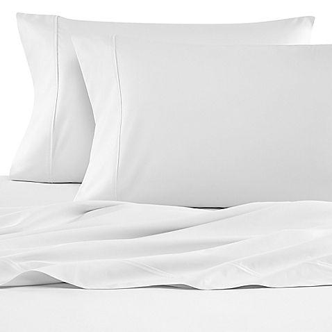 Wamsutta Reg 620 Egyptian Cotton Deep Pocket Queen Sheet Set In White Best Bed Sheets Wamsutta Cotton Pillow Cases