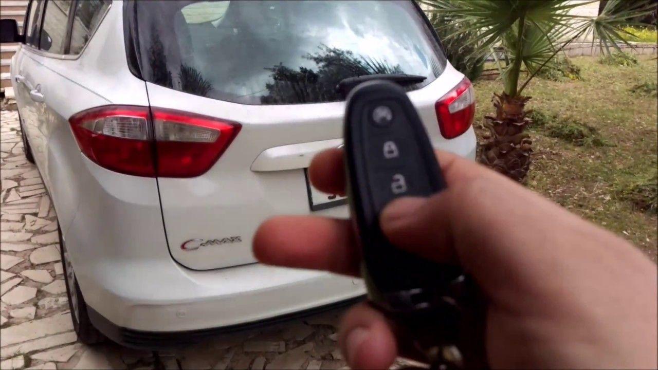 Ford C Max Hybrid Remote Start Key Fob Smart Key Ford C Max