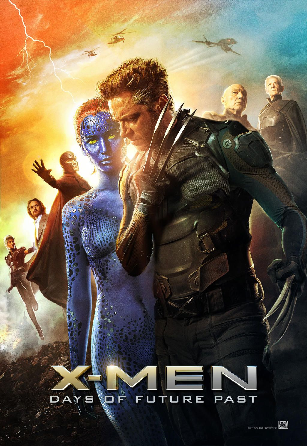 X Men Days Of Future Past Days Of Future Past X Men New Poster
