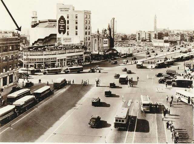 Jersey City History Journal Square 1938 Jersey City Seaside Heights Nj City Scene