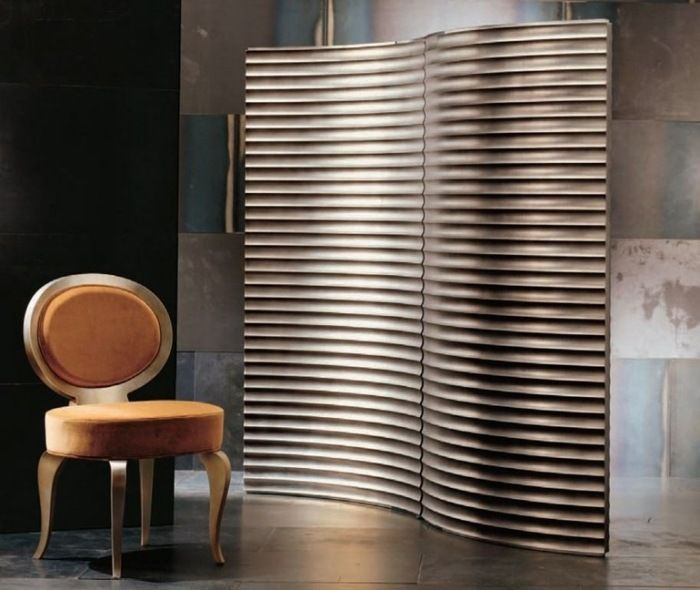 trennwand paravent aus holz in ansprechendem design bilbo. Black Bedroom Furniture Sets. Home Design Ideas