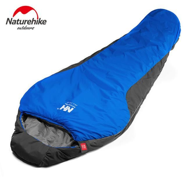 High Quality Camping Sleeping Bag 210 * 83cm Cotton Lining Waterproof