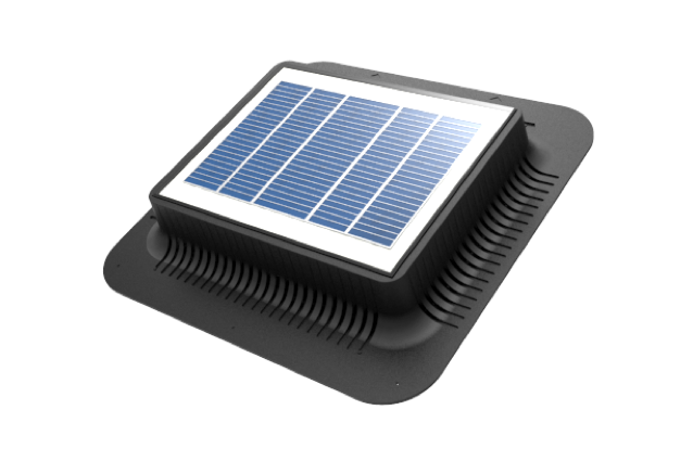 The Infinivent Model X Is A Fully Autonomous Solar Powered Roof Vent Under Direct Sunlight This Vent Can Circulate Up To 1000 Cubic Feet Per Minute This Ve