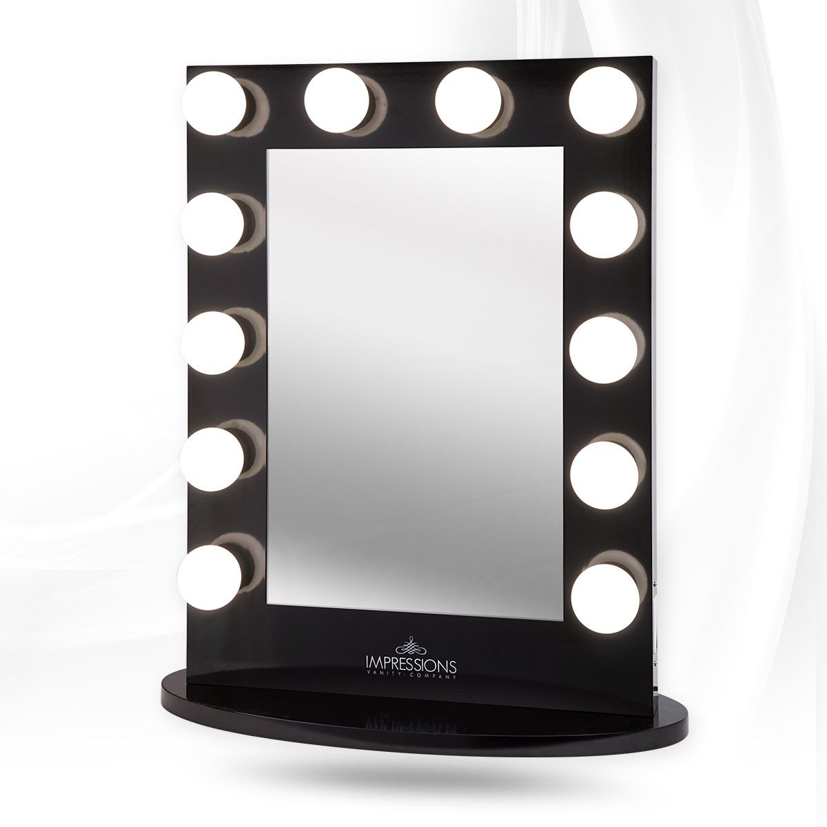 tabletop makeup lighting portable larger view jerdon mirror magnification dp led inch adjustable lighted