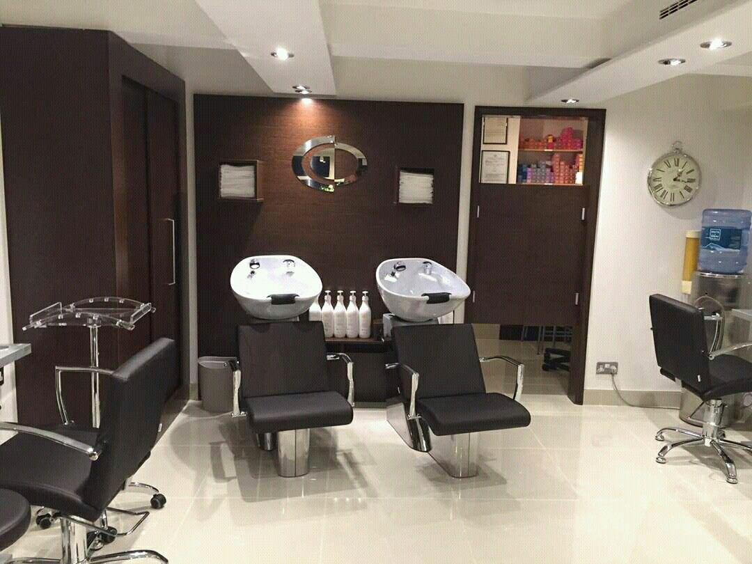 Yoko/Carmen Washing Units And Carmen Styling Chairs By Ayala Salon Furniture.  Hairdresser Salon