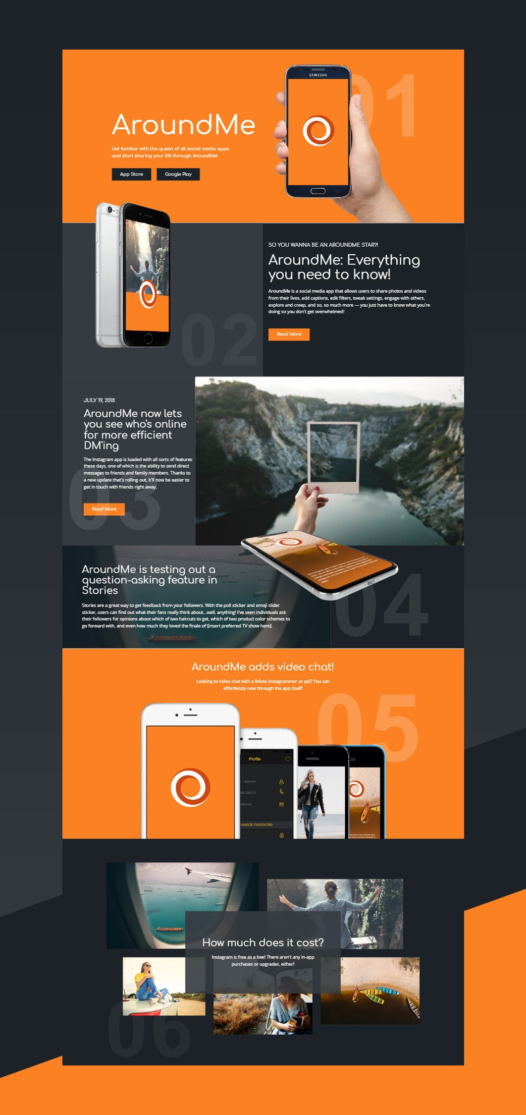 Free Template By Nicepage Builder Responsive Web Design Web Layout Design Mobile Website Design