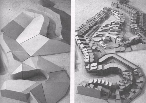 Housing project on curving streets ralph knowles
